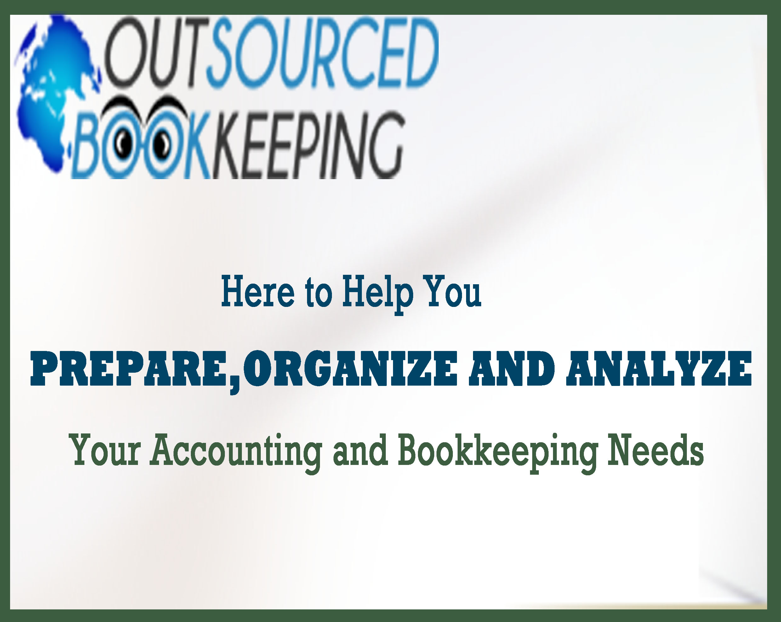 Outsourcing of Bookkeeping and Accounting