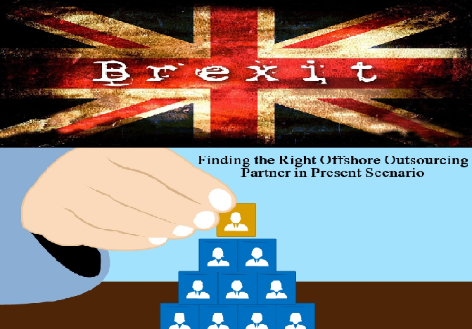 Explore the possibility of outsourcing after Brexit